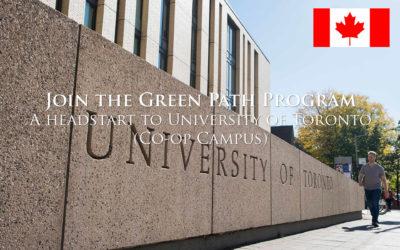 Green Path Program, University of Toronto, Ontario, Canada