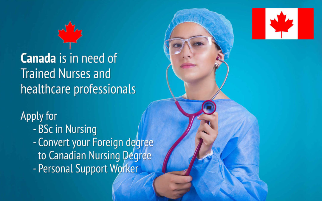 Nursing career in Canada