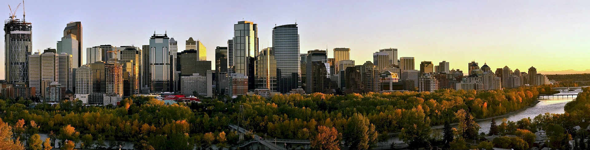 Calgary Skyline, Alberta, Canada