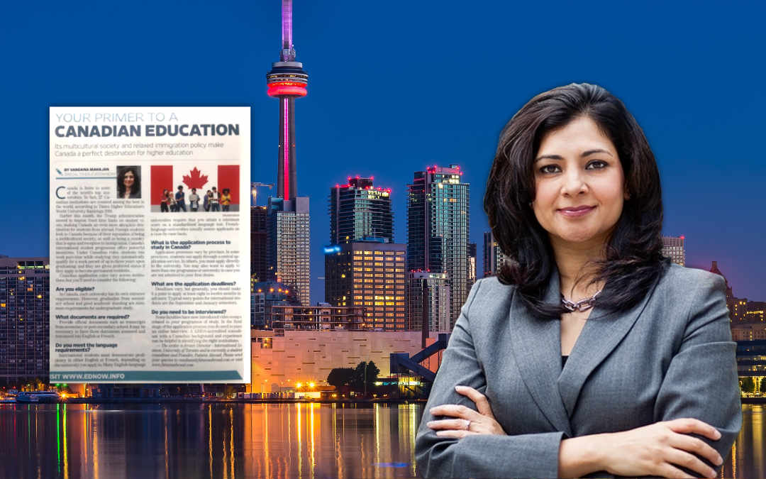 Your primer to a Canadian Education