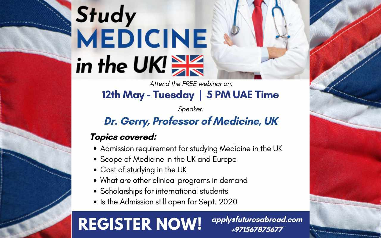 Study medicine in the UK