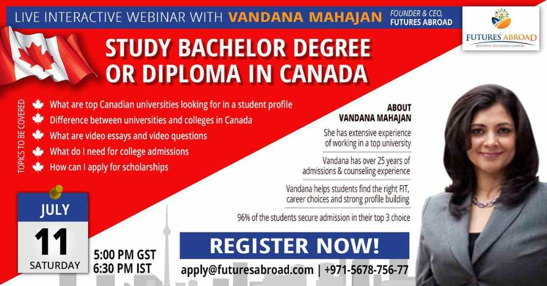 Study bachelors degree or diploma in Canada