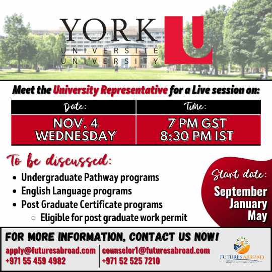 Study in York University