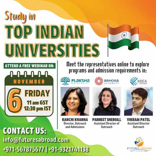 Study in Top Indian Universities