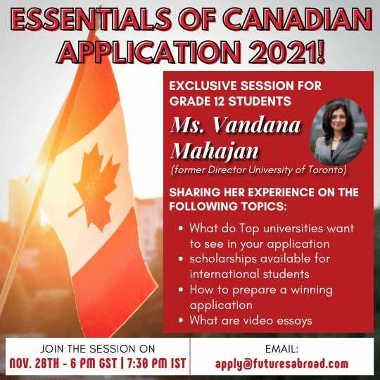 Essentials of Canadian Application 28Nov2020