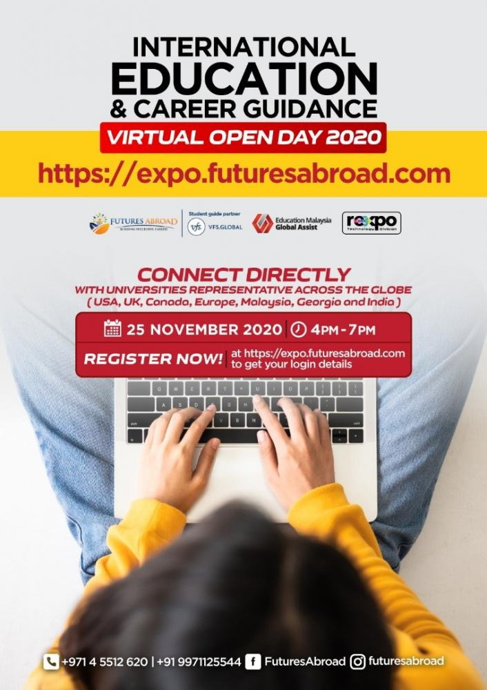 International Education and Career Guidance - Virtual Open Day 2020